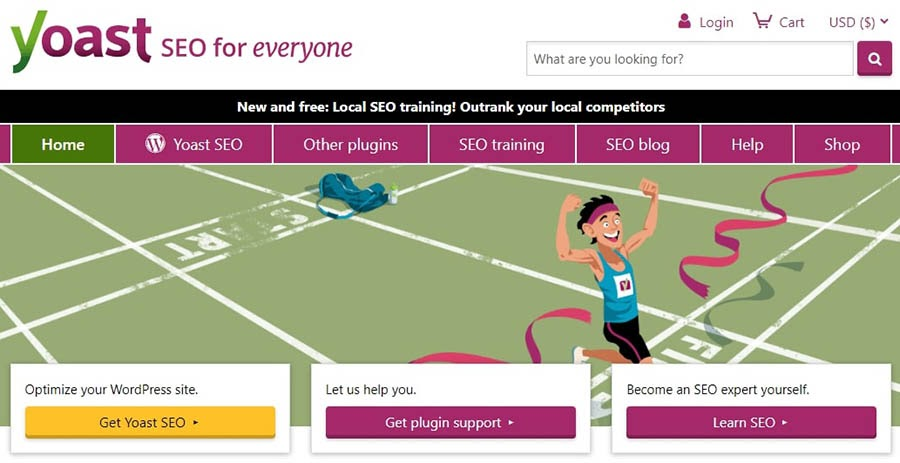 The Yoast SEO plugin.
