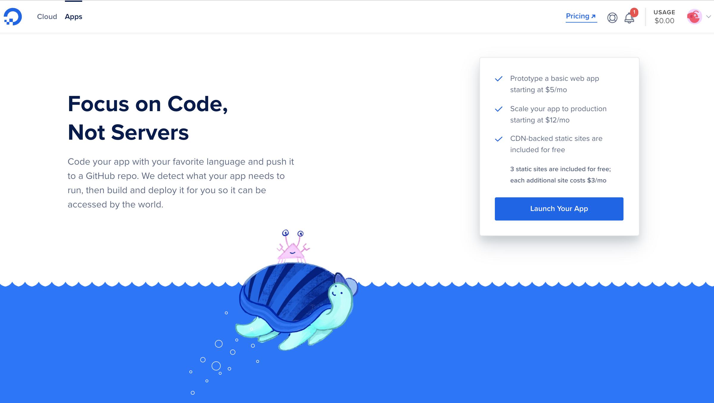 App Platform Portal