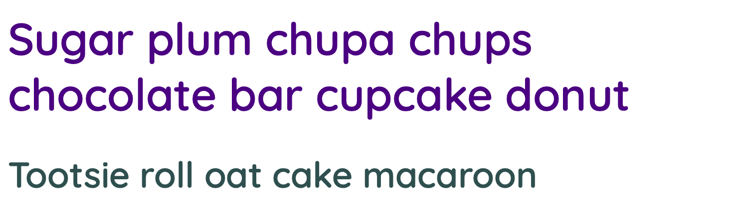 The main heading of the page in a dark puple color.