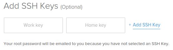 SSH-Schlüssel einbetten