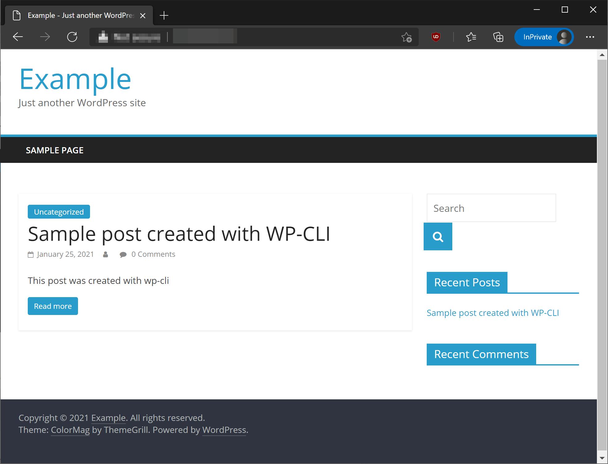 WP-CLI post