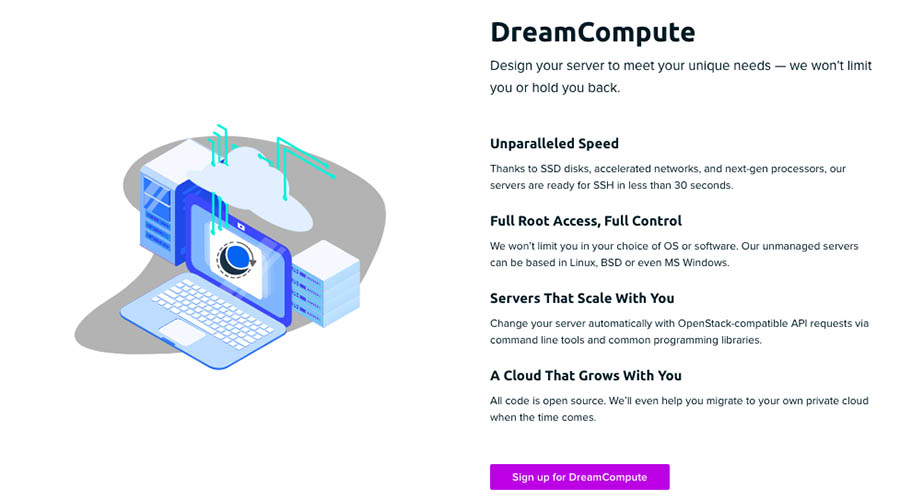 DreamCompute info on dreamhost.com