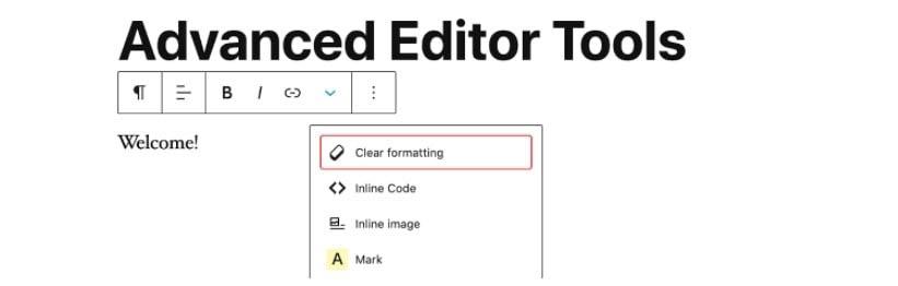 The Advanced Editor Tools plugin.