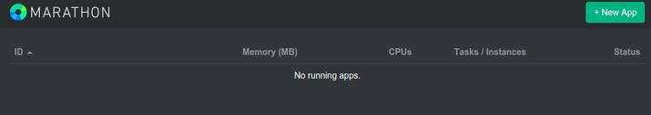 Interface principale de Marathon