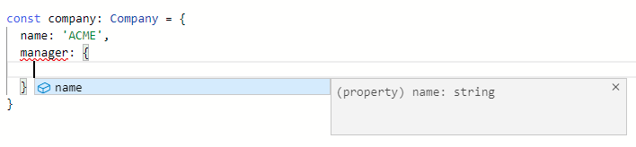 TypeScript Code Self-Documenting