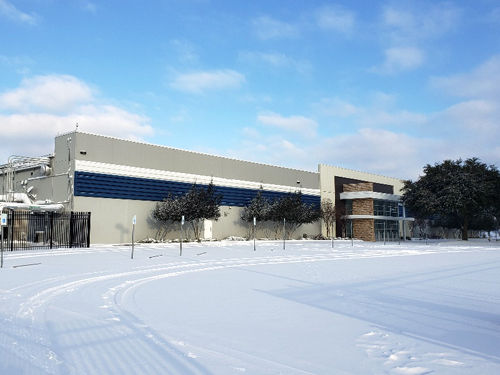 Dallas Flagship Snow